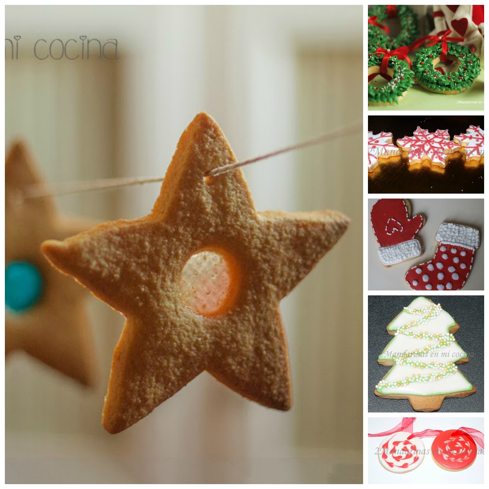 ideas para hacer galletas de navidad con nios