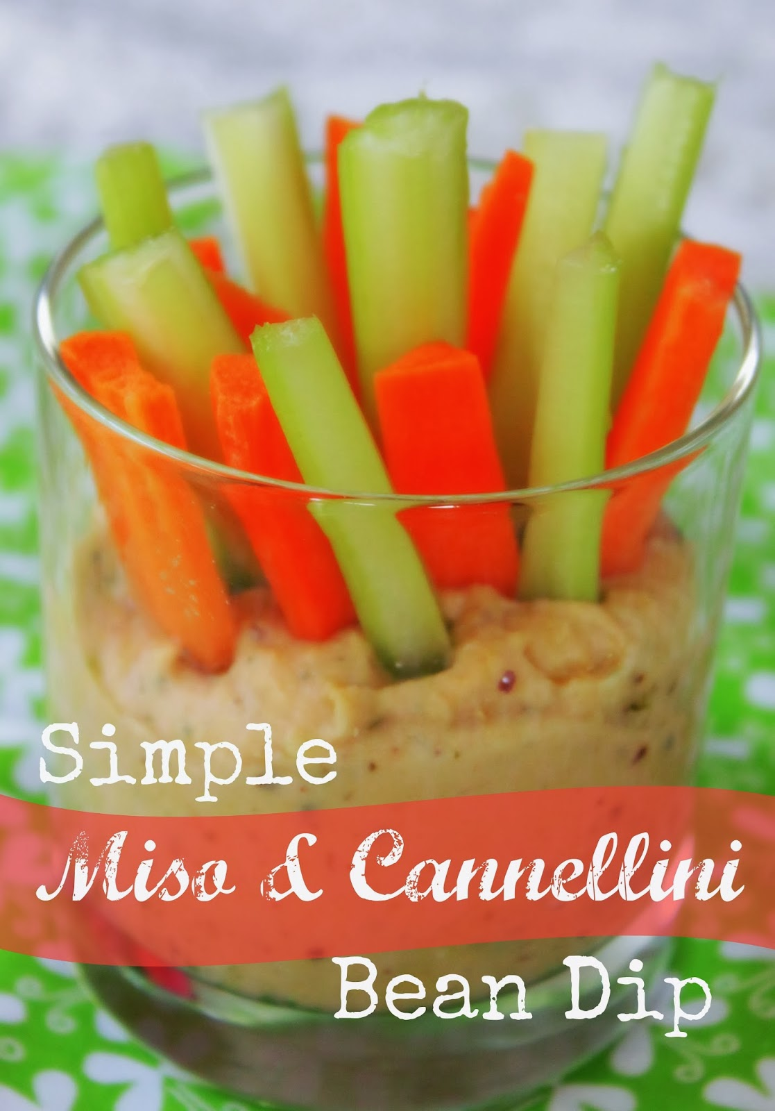 cannellini white bean and miso dip recipe
