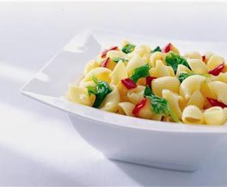 Cacerola de Pasta y Espinaca