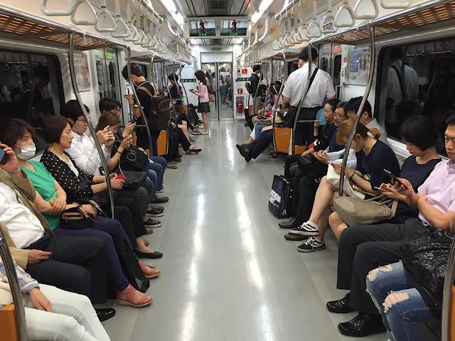 新沙士 (MERS) 6月4日首爾地鐵現況