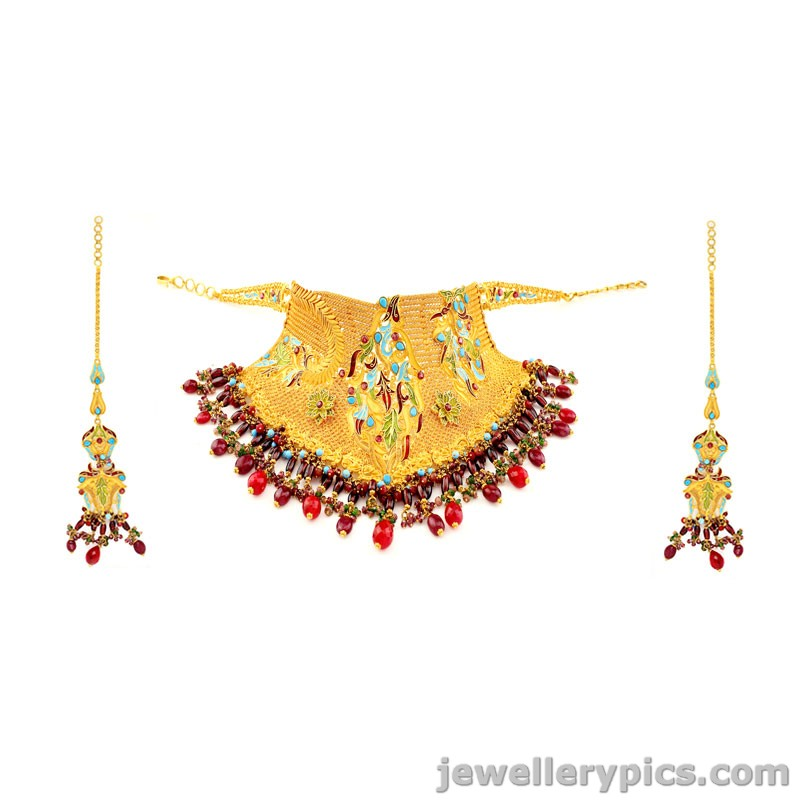 Grt Gold Necklace Vintage Collection Latest Jewellery