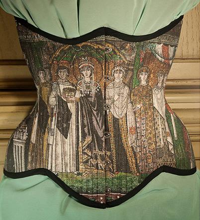 Byzantine Mosaic Corset, $290