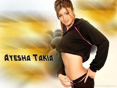 Glamorous Ayesha Takia Wallpaper