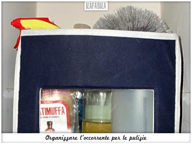Organizzare l'occorrente per le pulizie - Ripostiglio