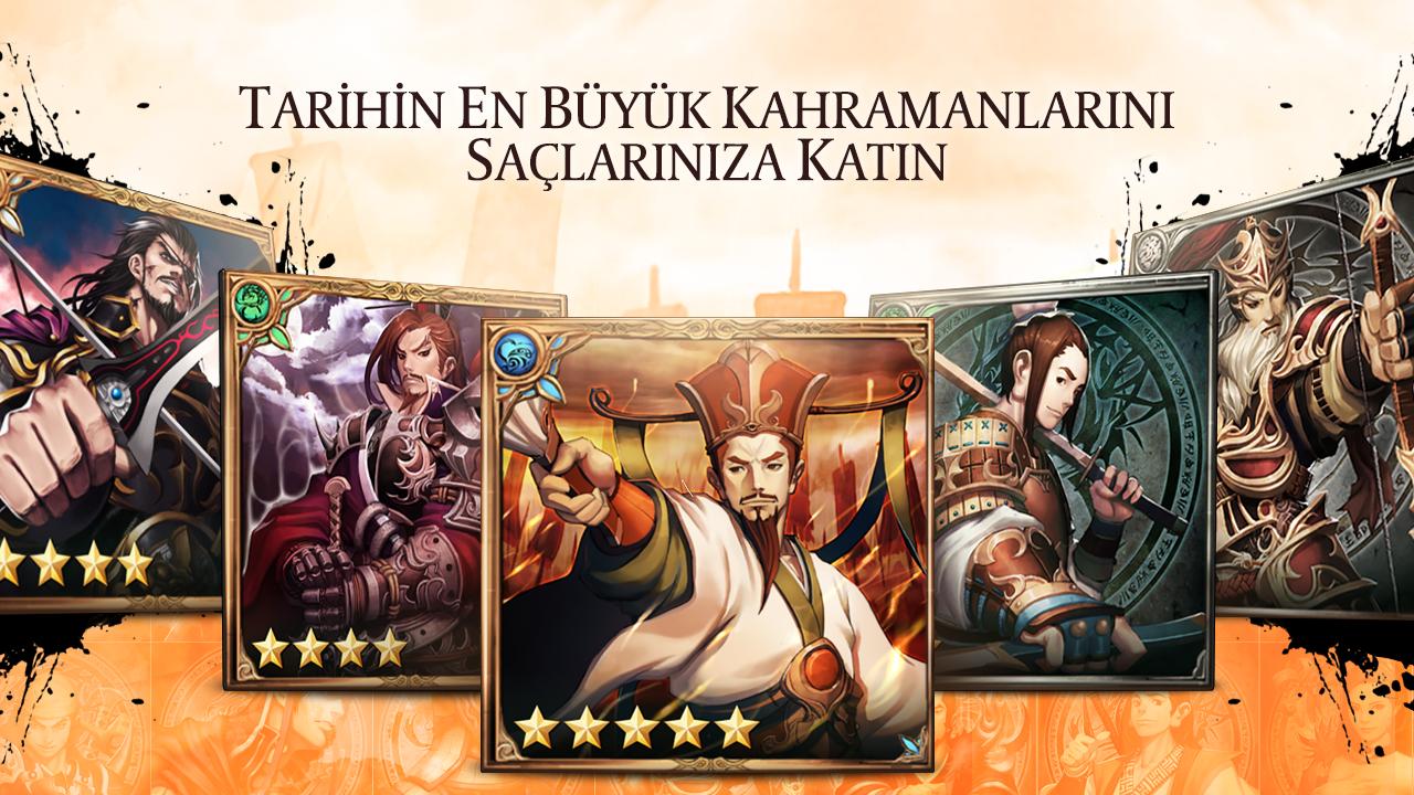 Dynasty Warlord (Sihirli Kartlar) Android Apk Oyunu resimi