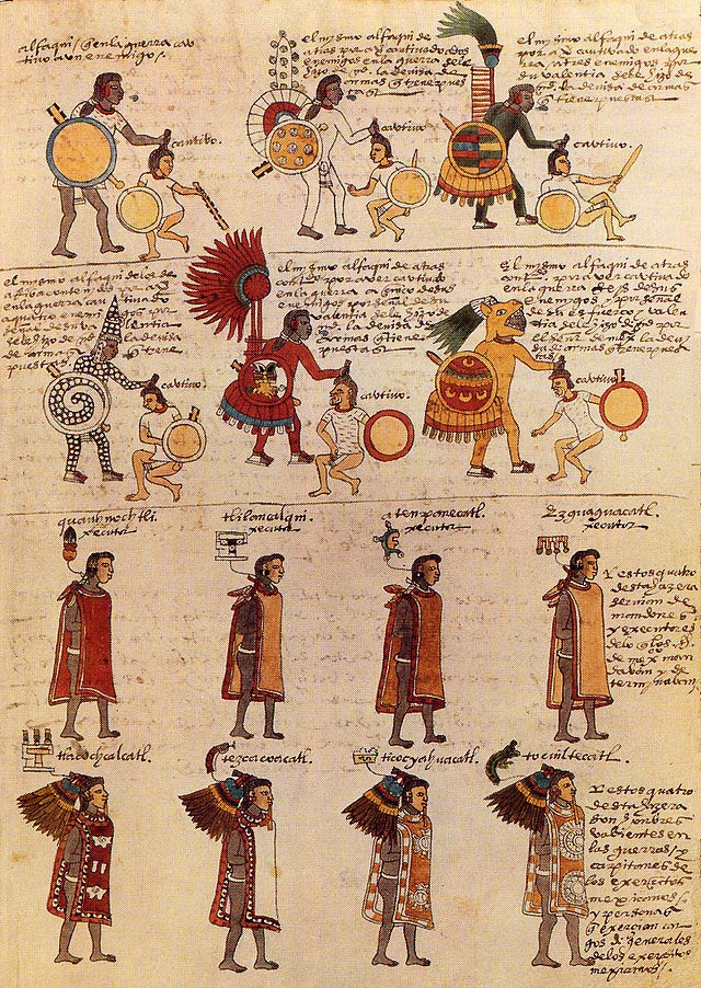 For Tenochtitlan, relation of a graphic novel: Aztec