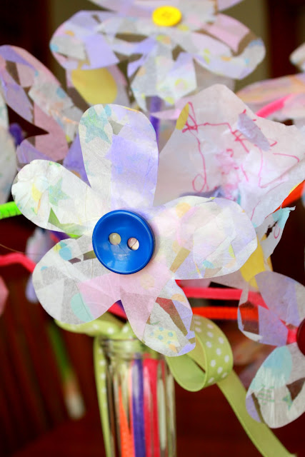kids crafts Mother's Day Bouquet