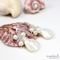 Cluster Pearls Earrings - magsbeadscreation.com