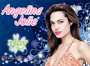 Angelina Jolie guapa