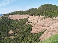 El Serrat del Vent des de Sant Llorenç del Munt