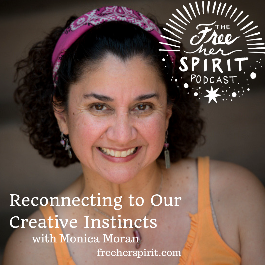 I'm on the Free Her Spirit Podcast!