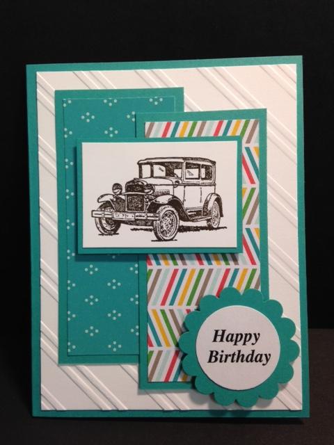 My Creative Corner A Guy Greetings Masculine Birthday Card