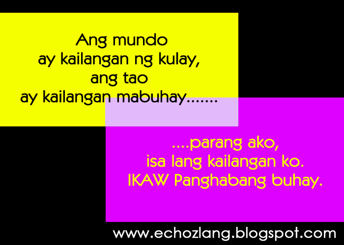 june 2013 echoz lang tagalog quotes collection