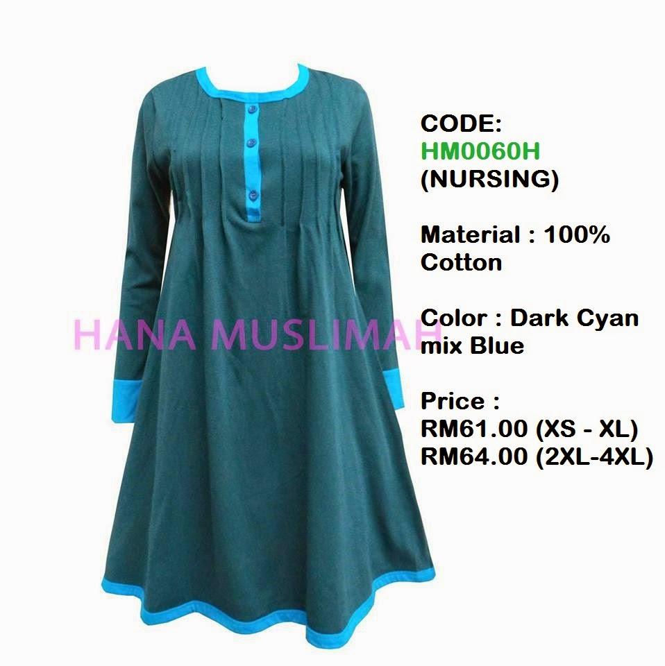 T-shirt-Hana-Muslimah-HM0060H