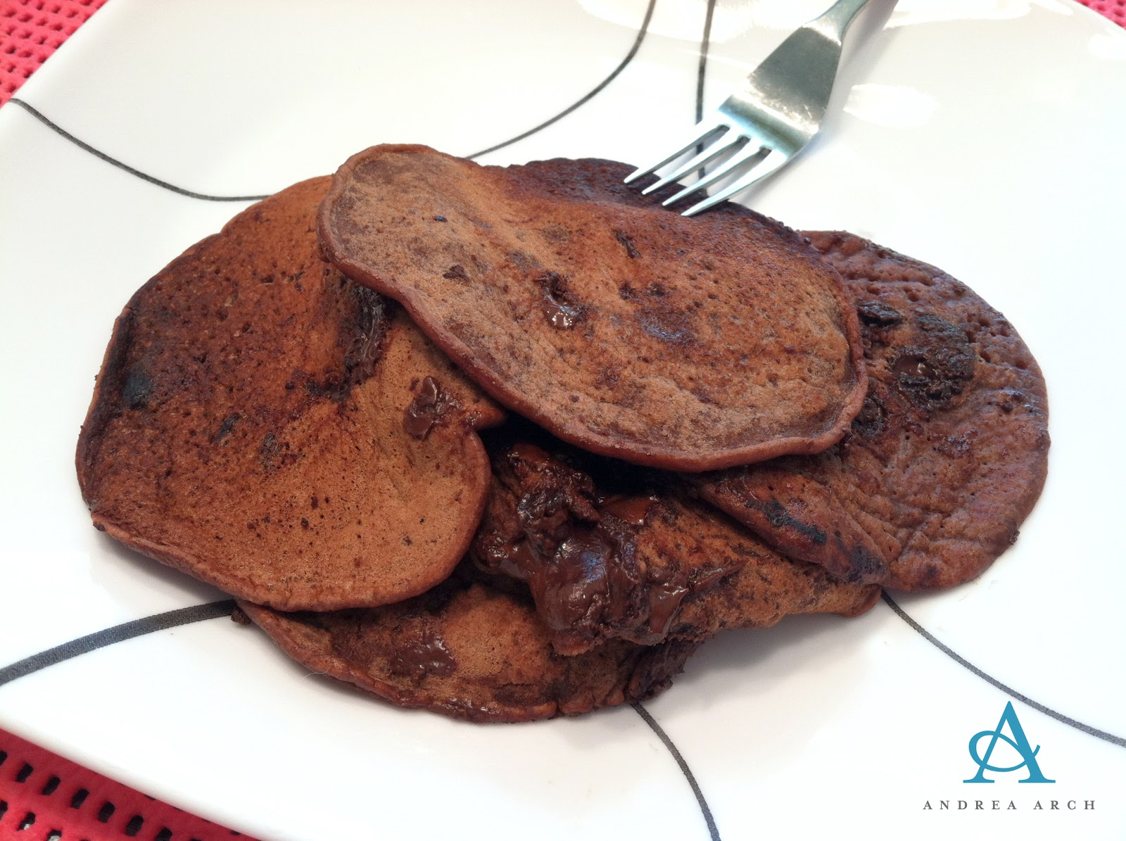 brownie batter pancakes 1 4 c spelt or all purpose flour 1 4 t baking ...