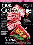 Od ponad 4 lat publikuję teksty podróżnicze w czasopiśmie MOJE GOTOWANIE. Szukajcie w kioskach.
