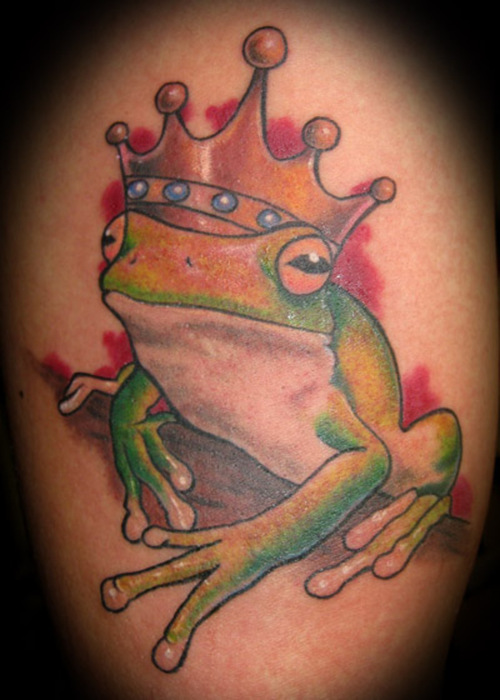 Cartoon Frog Tattoo 4jpg