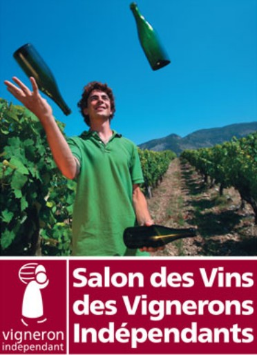 Positive eating positive living salon des vignerons for Salon des vins independants