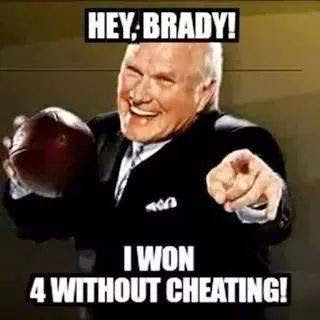 Hey, Brady! I won 4 without Cheating!