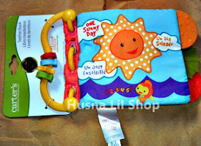 Carter's Teether Soft Book - One Sunny Day