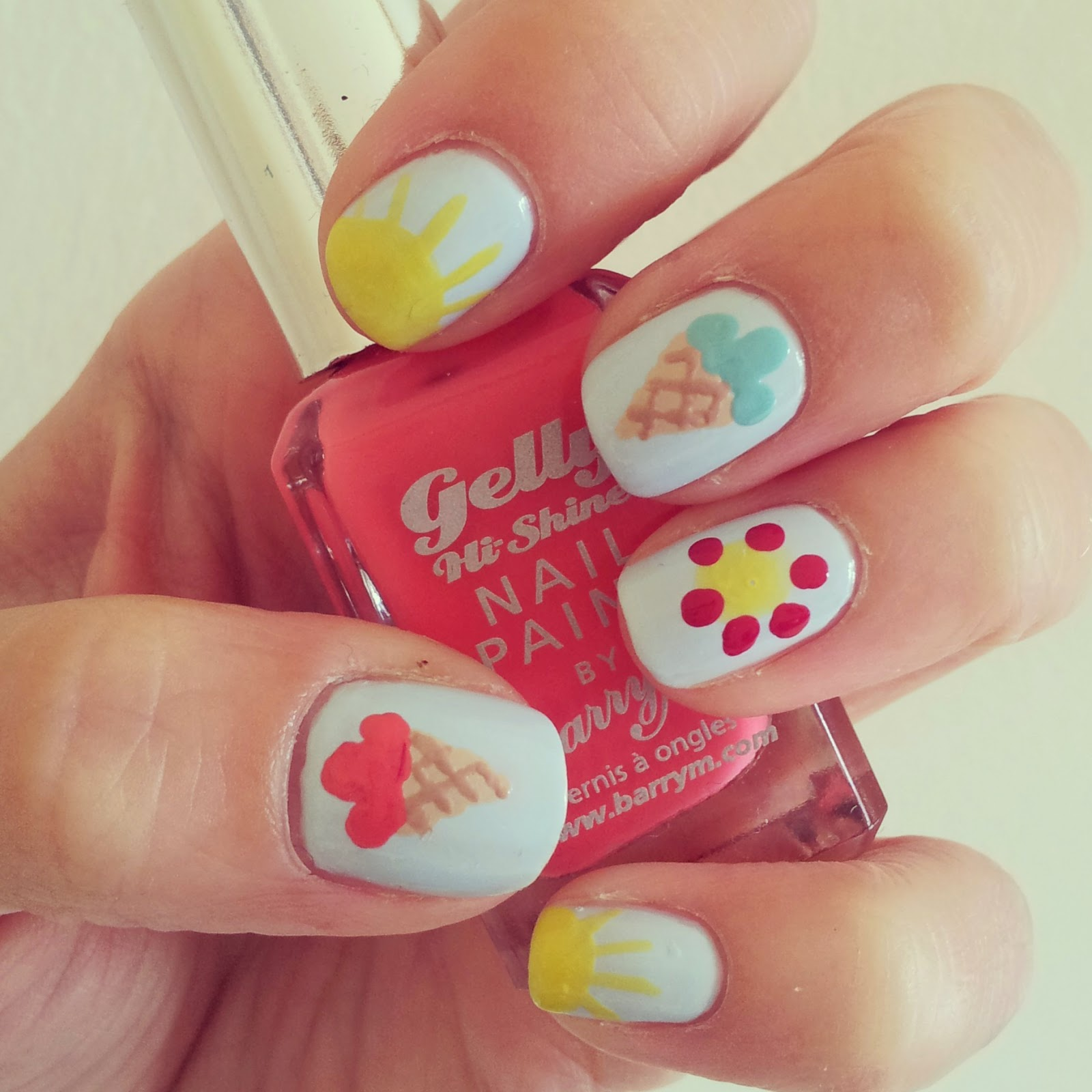 Nail Summer art collection for girls pictures photos
