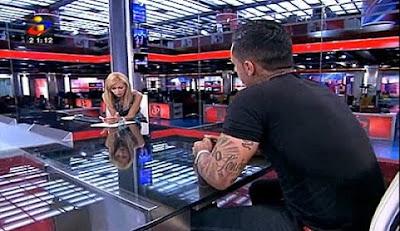 Bruno Nogueira fala sobre a entrevista de Judite de Sousa a Lorenzo Carvalho