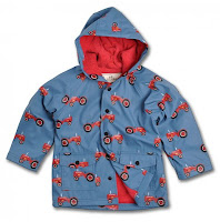 Farmer Jack Raincoat with Lining in Blue Design Fashion Children Trend 2013