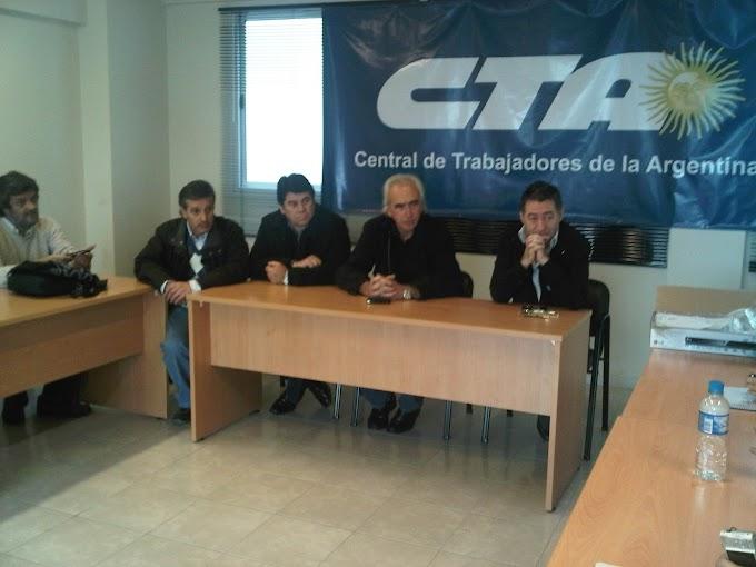 La CTA-Tucumán acompañó a los autoconvocados en Bs. As.