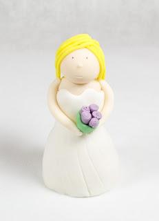 Poročna figurica - nevesta
