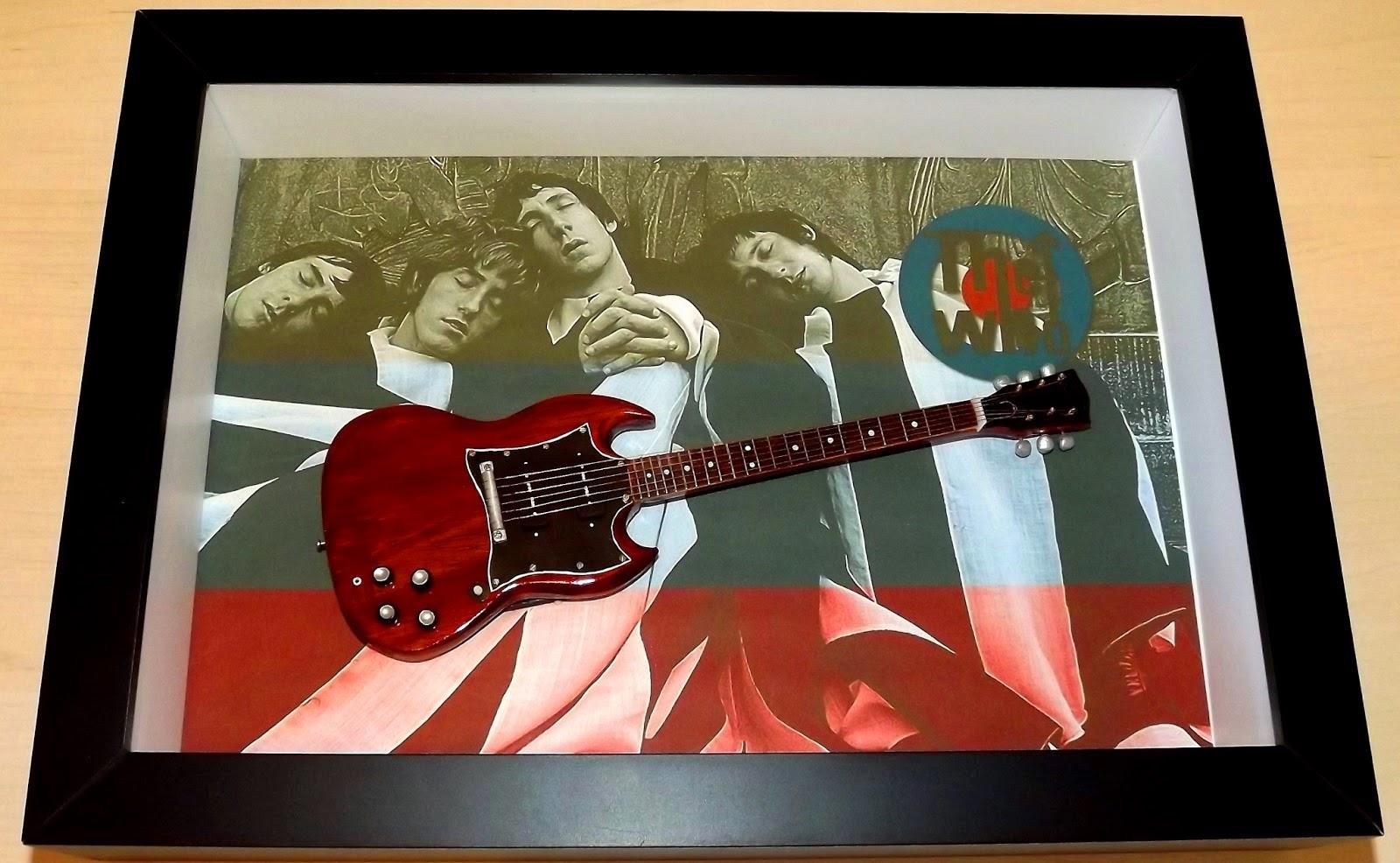 Miniatura Guitarra SG Pete Townshend