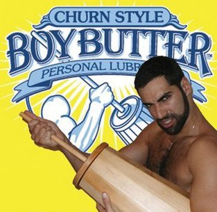 Davey Wavey Blog uses Boy Butter ad to compare Butter vs. Margarine