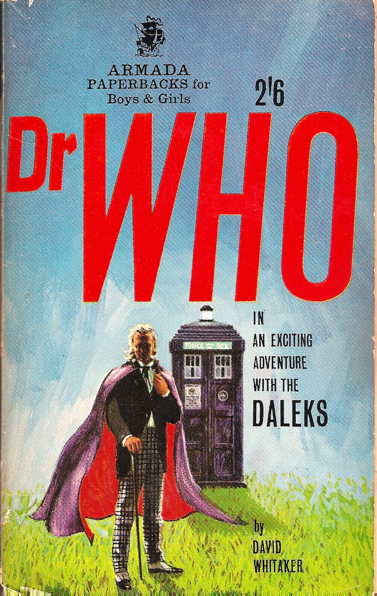 The most beautiful Doctor Who book cover ever.