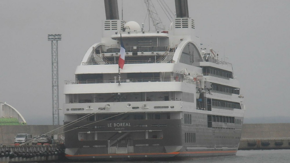 Boreal Heads to Europe for Repair