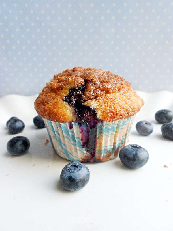 Confessions of a Confectionista: To Die For Blueberry Muffins