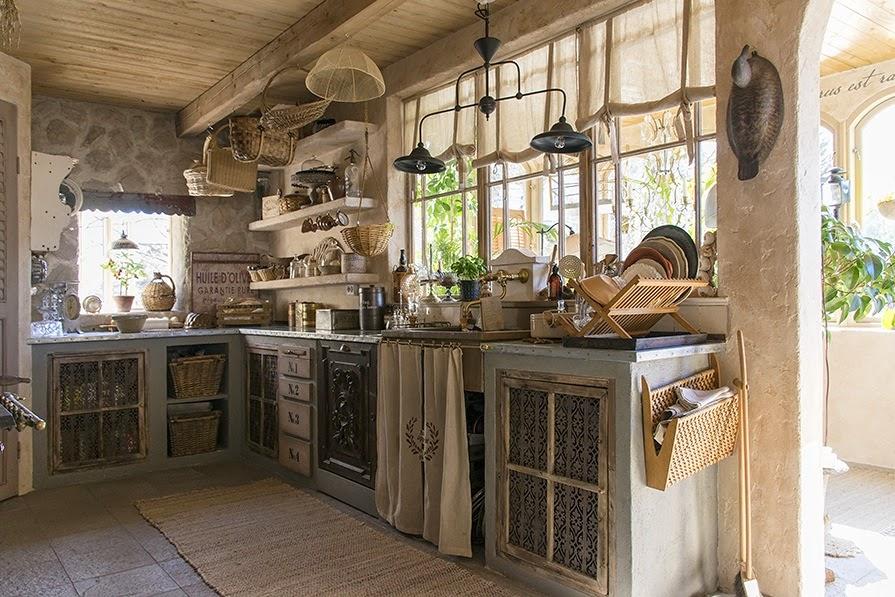 Patrzeć na życie w zachwycie Urocze kuchnie w stylu retro -> Tania Kuchnia Retro