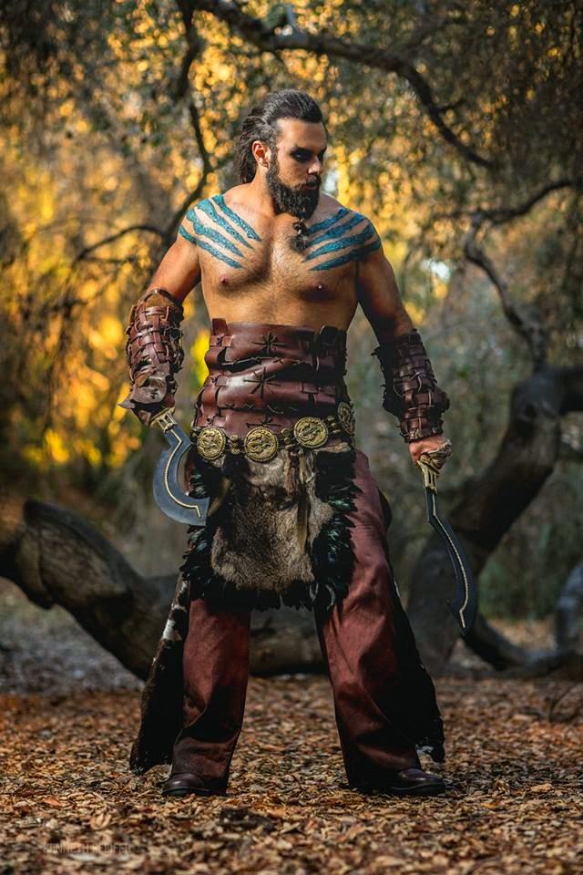 cosplay de khal drogo