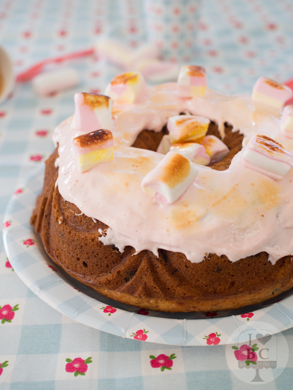 S'mores Bundt Cake #BundtBakers
