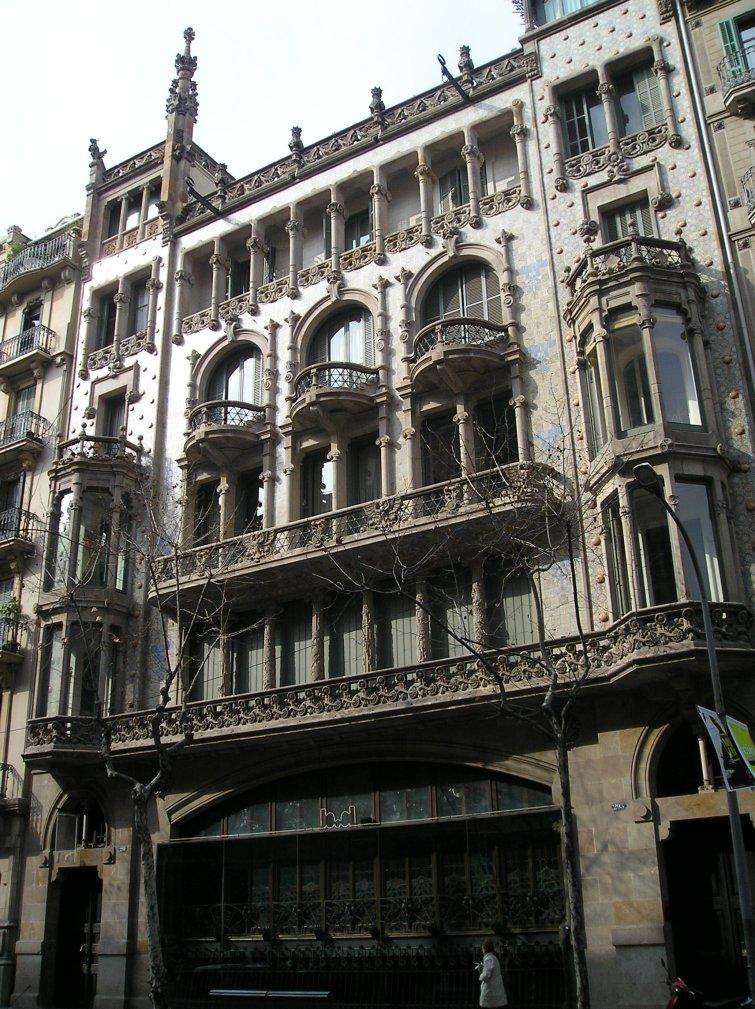Barcelof lia casa thomas edifici original mallorca 293 - Cubina barcelona ...
