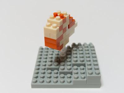 ナノブロックで作ったオウムガイ