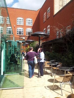 The Studio Birmingham, open cafe