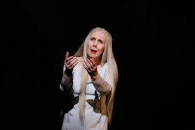 Felicity Palmer - Queen of Spades - English National Opera - photo credit Donald Cooper