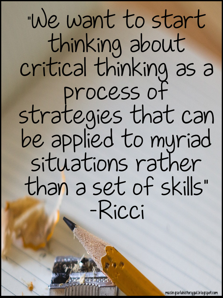 importance of critical thinking in university