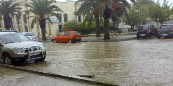 نشره إنذارية: هذه الأقاليم والمناطق المهددة بأمطار عاصفية من الخميس إلى السبت المقبلين
