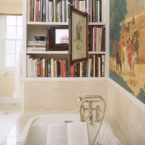 Bookshelf October 2011 – Bathroom Bookshelf