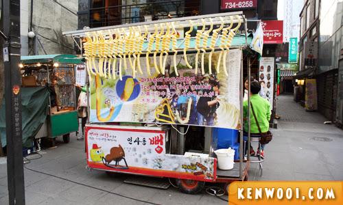 seoul food stall
