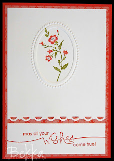 Charming Flower Card