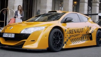 Renault Megane Trophy Taxi por Paris Manuel Perez Cardona