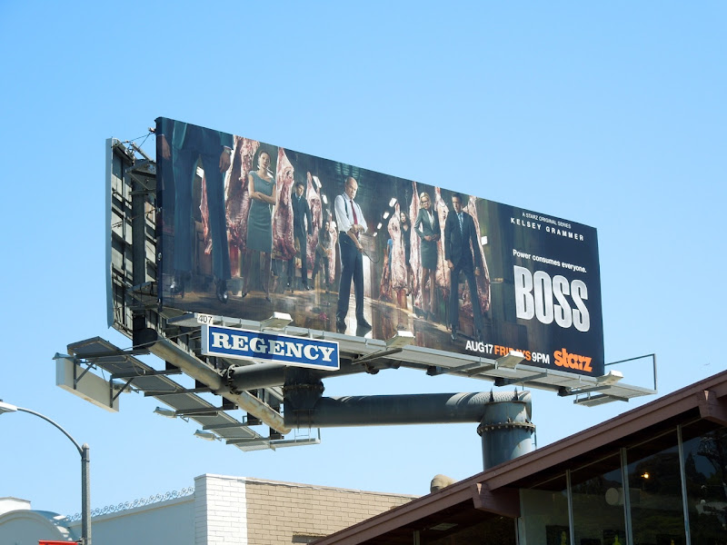 Boss season 2 billboard