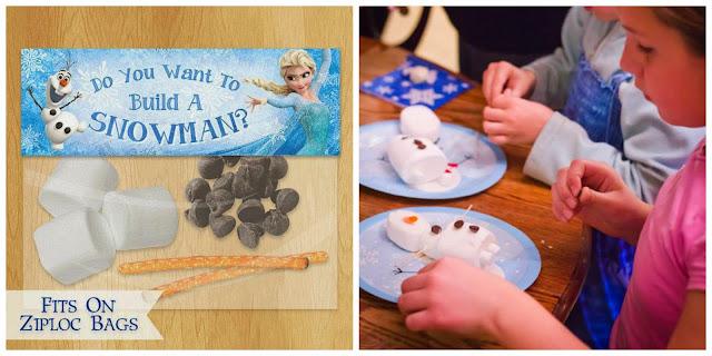 DIY muñeco de nieve Olaf - cumpleaños Frozen
