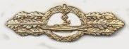 U-Boat Combat Clasp, Awarded in Gold and Silver
